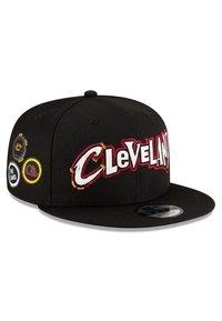 New Era - NBA20 CITY OFF 9FIFTY SNAPBACK CLEVELAND CAVALIERS - Cap - schwarz - 4