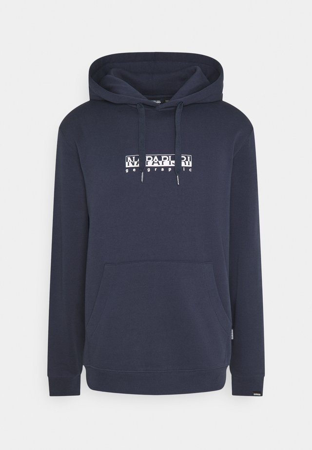 BOX UNISEX - Hoodie - blue nights