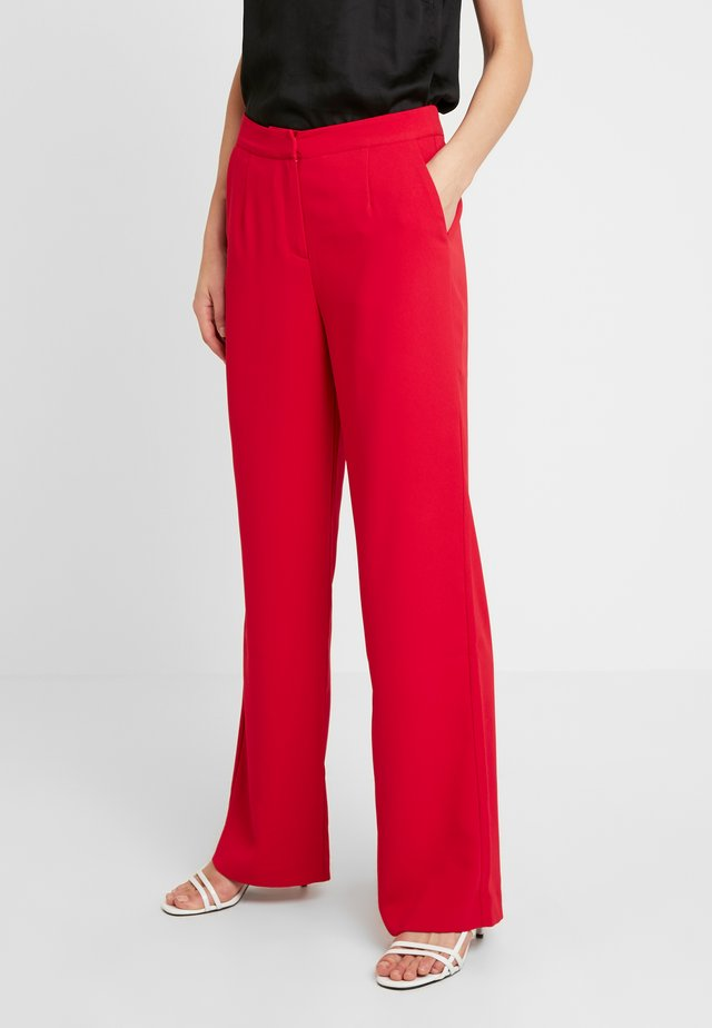 MY FAVOURITE PANTS - Tygbyxor - red