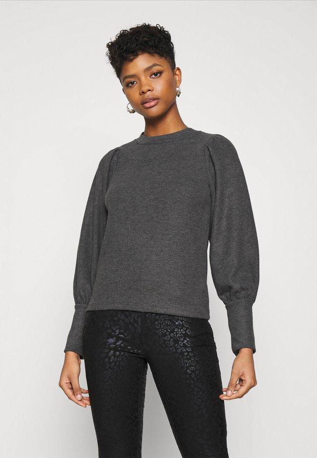 VMKINSEY PUFF  - Sweatshirts - dark grey melange