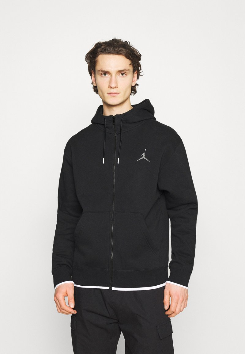 Jordan - Zip-up hoodie - black