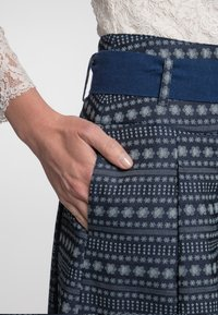 Spieth & Wensky - A-line skirt - dunkelblau - 5