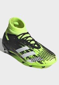 adidas Performance - PREDATOR MUTATOR 20.1 FOOTBALL BOOTS FIRM GROUND UNISEX - Moulded stud football boots - siggnr/ftwwht/cblack - 2