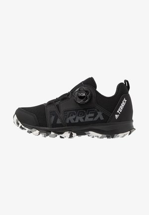 TERREX AGRAVIC BOA - Hiking shoes - core black/footwear white/grey three
