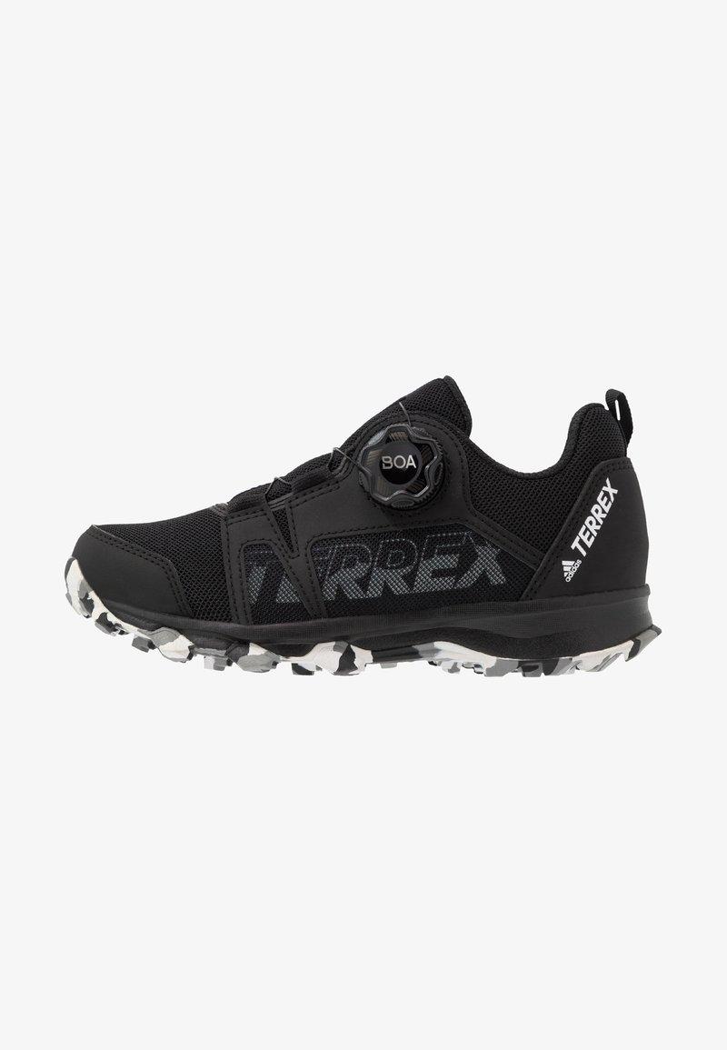 adidas Performance - TERREX AGRAVIC BOA - Hiking shoes - core black/footwear white/grey three