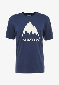 Burton - CLASSIC MOUNTAIN HIGH - Print T-shirt - dress blue - 4