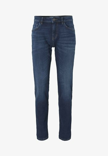 TAVIS REGULAR  - Straight leg jeans - dark stone wash denim