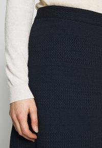 TOM TAILOR - SKIRT - A-line skirt - sky captain blue - 4