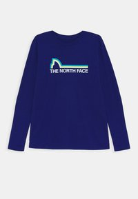 The North Face - ON MOUNTAIN TEE - Long sleeved top - bolt blue - 0