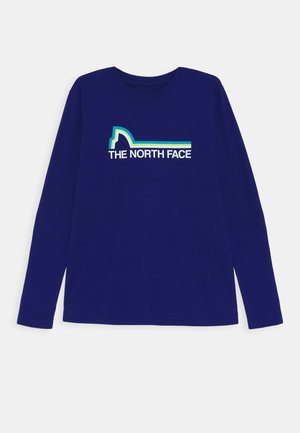 ON MOUNTAIN TEE - Longsleeve - bolt blue