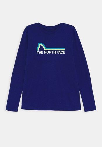 ON MOUNTAIN TEE - Long sleeved top - bolt blue