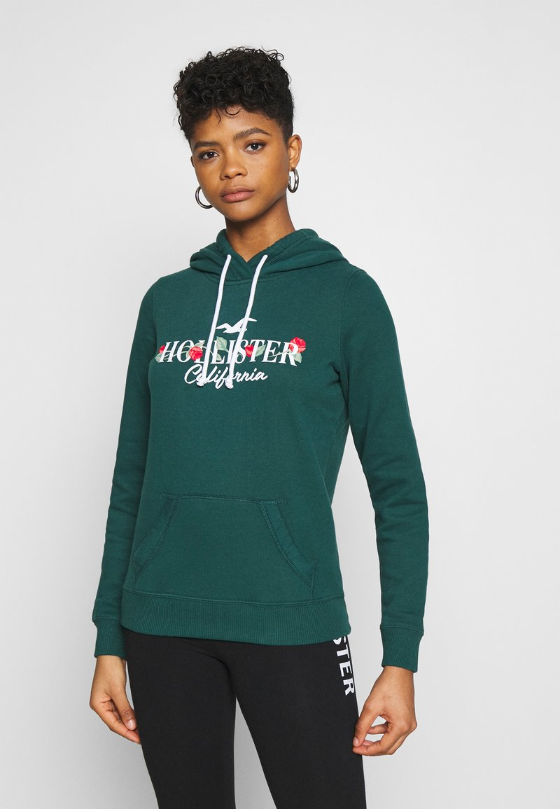Hollister Co. - Mikina - green