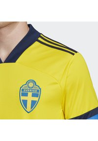adidas Performance - SWEDEN SVFF HOME JERSEY - Landsholdstrøjer - yellow/indigo - 6