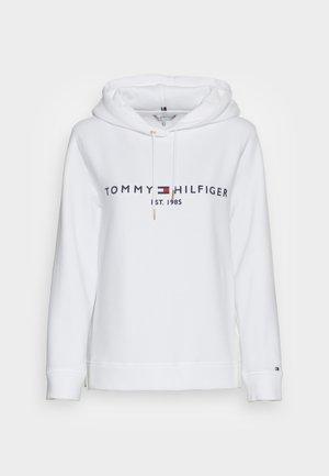 HILFIGER HOODIE  - Sweatshirt - white