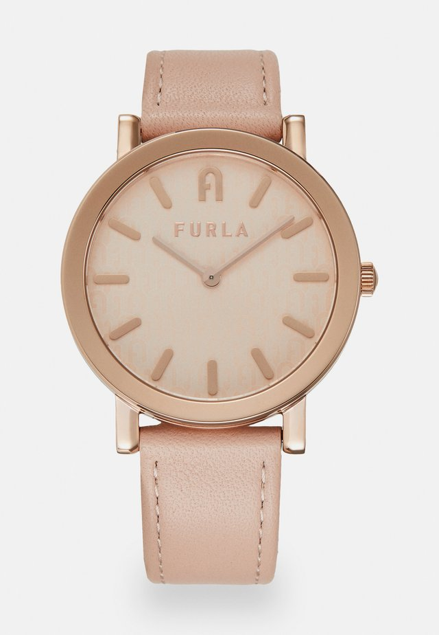FURLA MINIMAL SHAPE - Watch - rose/rosegold-coloured