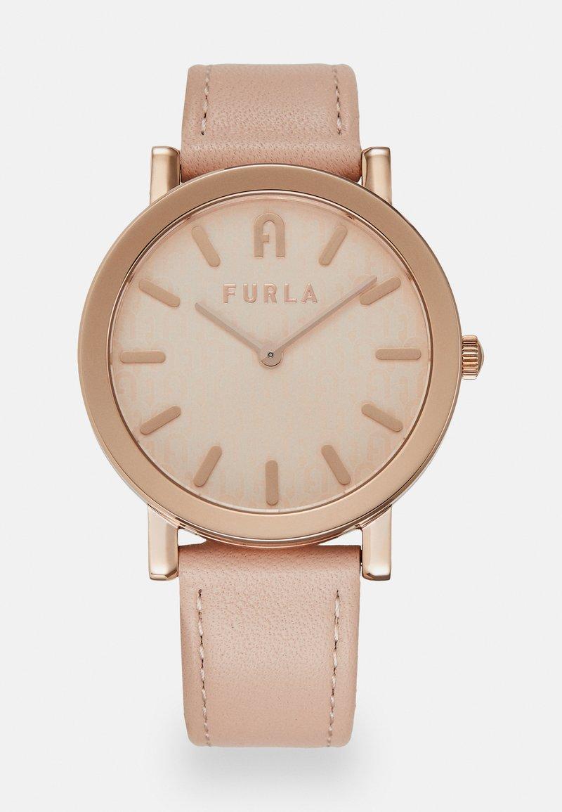 Furla - FURLA MINIMAL SHAPE - Hodinky - rose/rosegold-coloured