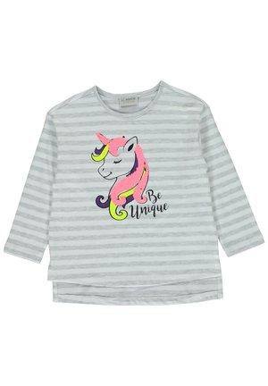 T-SHIRT - Long sleeved top - grey
