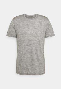 Icebreaker - TECH LITE CREWE FOREVER - T-shirt print - grey - 0
