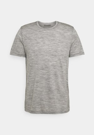 TECH LITE CREWE FOREVER - T-shirt med print - grey