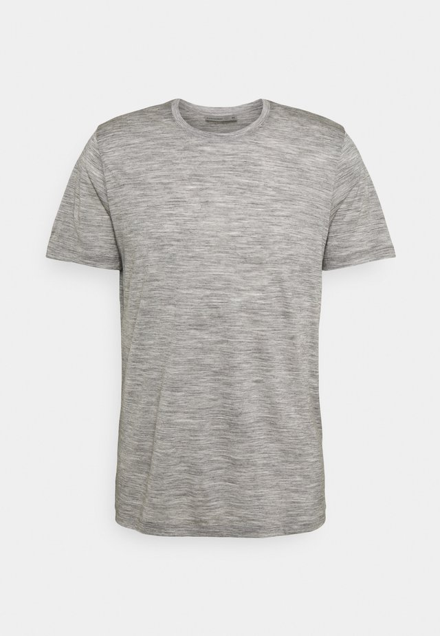 TECH LITE CREWE FOREVER - T-shirts print - grey