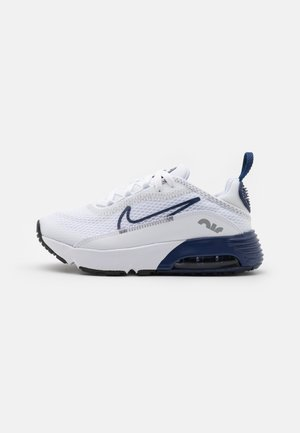 AIR MAX 2090 UNISEX - Sneakers laag - white/blue void/light smoke grey