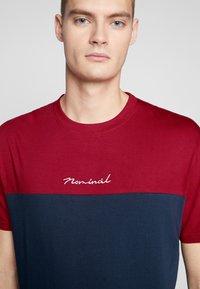 Nominal - DARA - Print T-shirt - navy - 5