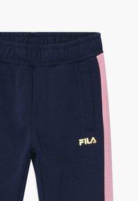 Fila - MARIA TRACK PANTS - Kalhoty - black iris/lilac sachet - 3