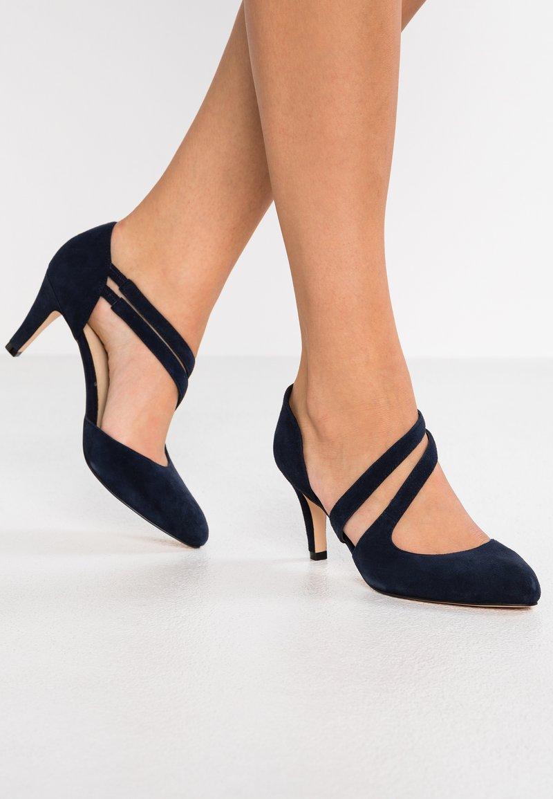 Anna Field - LEATHER PUMPS - Classic heels - dark blue