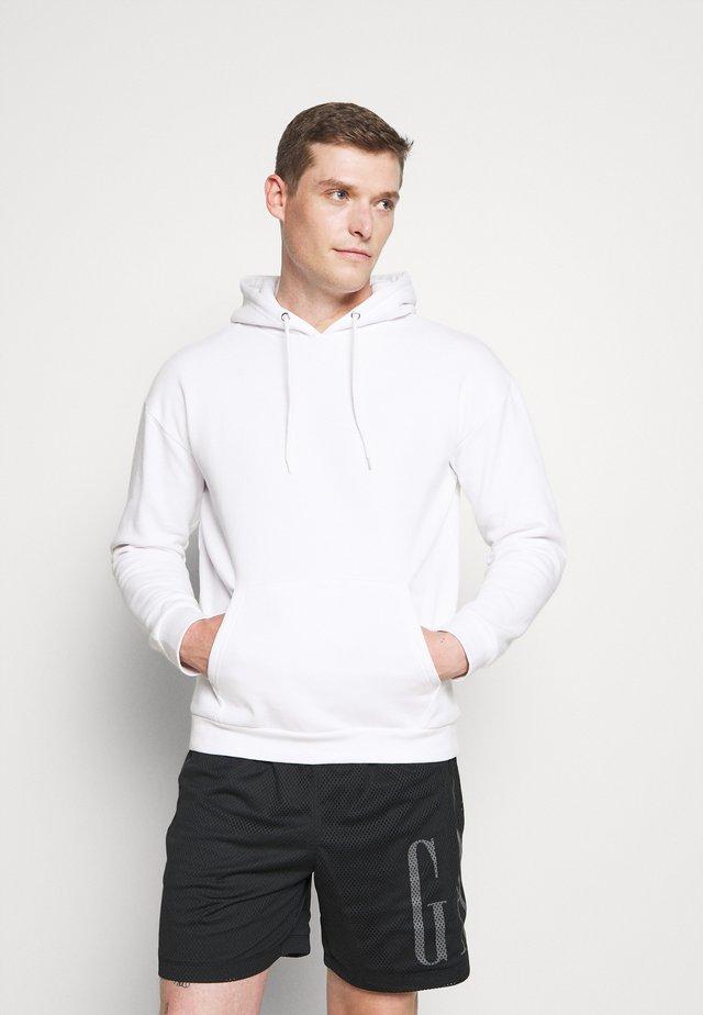 2 PACK - Hoodie - white/black
