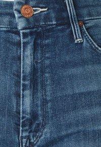 Mother - LOOKER ANKLE FRAY - Jeans Skinny Fit - blue denim - 6