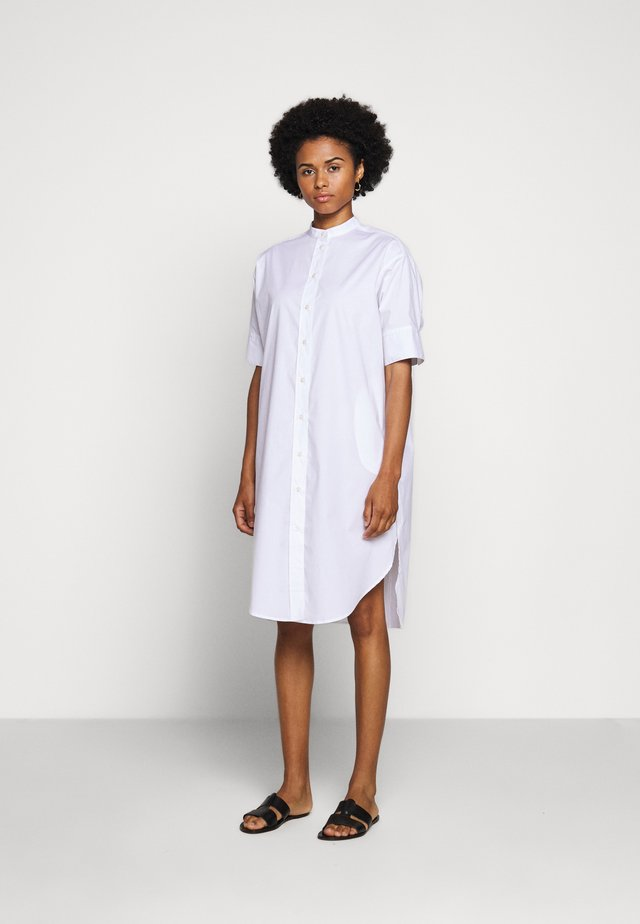 HEUS - Shirt dress - white