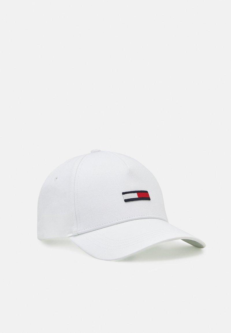 Tommy Jeans - FLAG - Kšiltovka - white