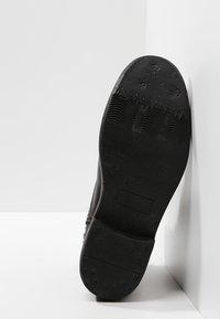 Pier One - Bottines à lacets - black barro - 4