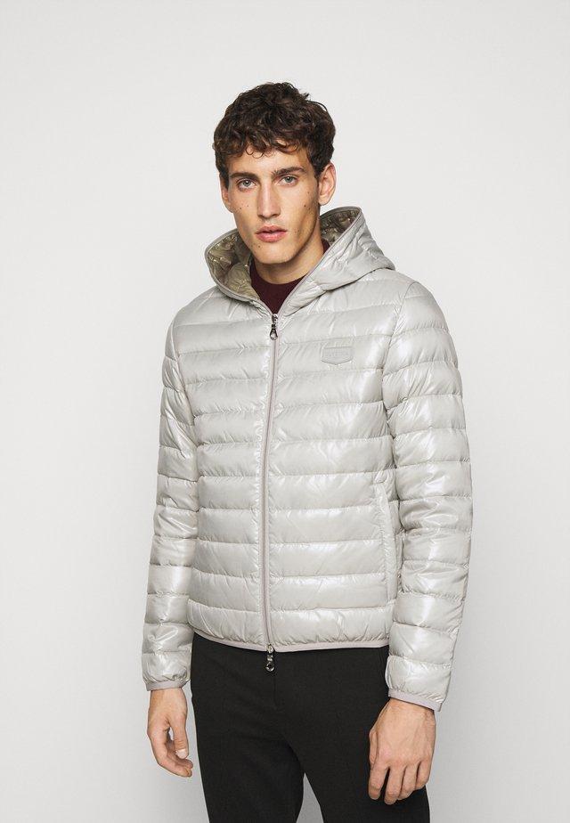 MARFAKDUE - Down jacket - grigio cemento