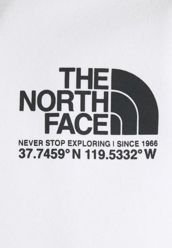 The North Face COORDINATES CREW - Bluza - tnf white/biały Odzież Męska UEEX