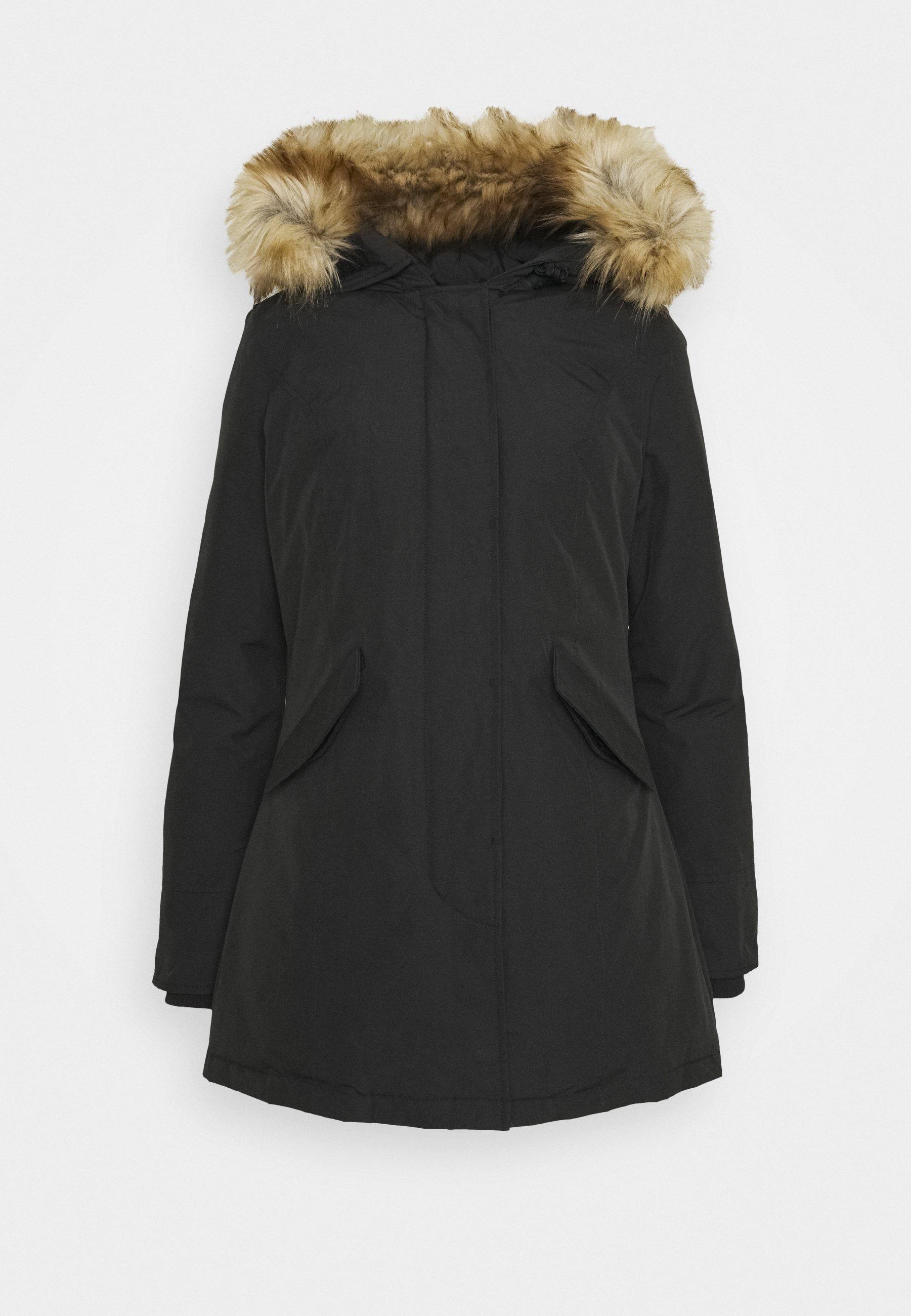 Canadian Classics Fundy Bay Recycled Winter Coat Black Zalando Co Uk