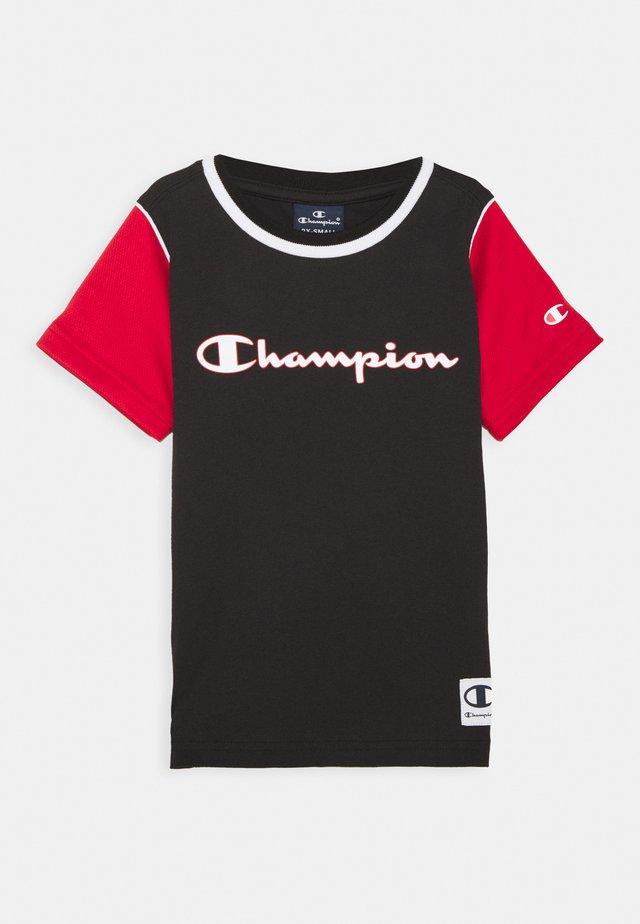 BASKET GAME CREWNECK UNISEX - T-shirt imprimé - black
