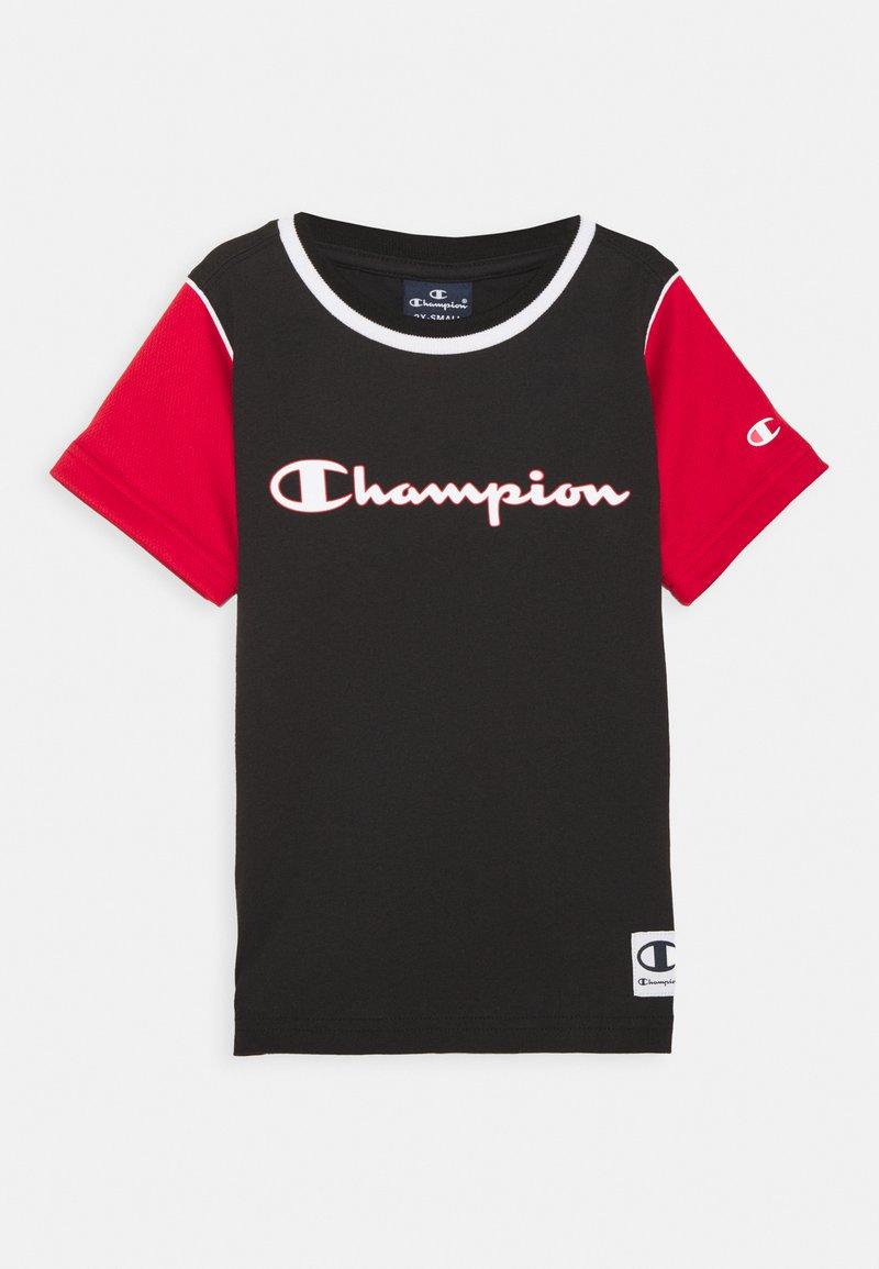 Champion - BASKET GAME CREWNECK UNISEX - T-shirt imprimé - black