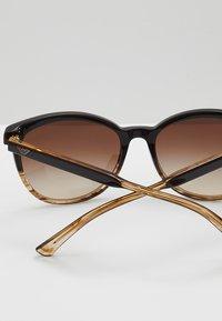 Emporio Armani - Sunglasses - brown/beige - 4