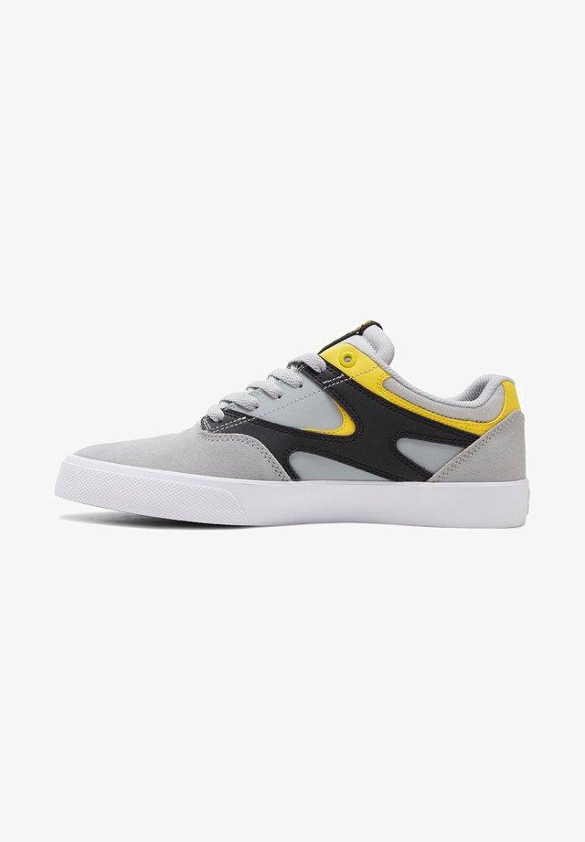 KALIS UNISEX - Skateschoenen - grey/black/yellow