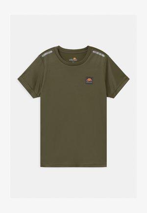 ROLLIO UNISEX - Print T-shirt - khaki