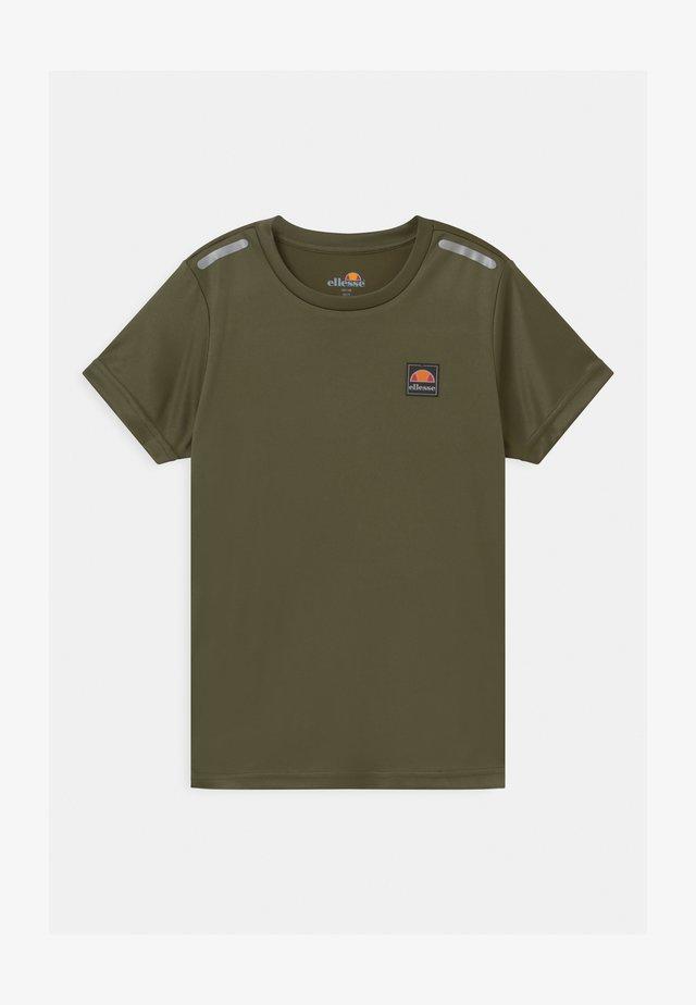 ROLLO UNISEX - Print T-shirt - khaki