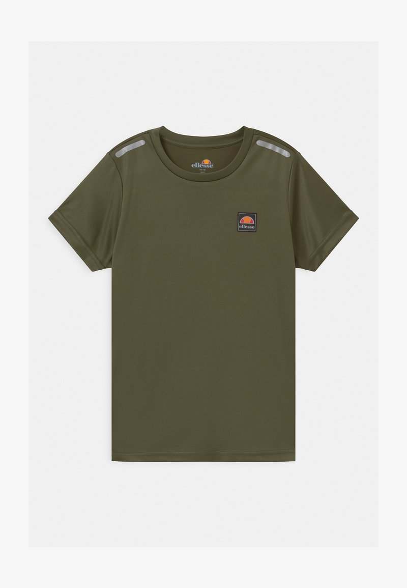 Ellesse - ROLLO UNISEX - T-shirt con stampa - khaki