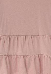 New Look 915 Generation - PEPLUM TIERED - Print T-shirt - pink - 2