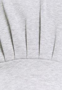 Topshop - SHORT HOODED DRESS - Sukienka letnia - grey - 2