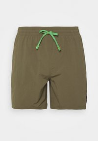 Nike Performance - VOLLEY ESSENTIAL - Swimming shorts - medium olive - 0