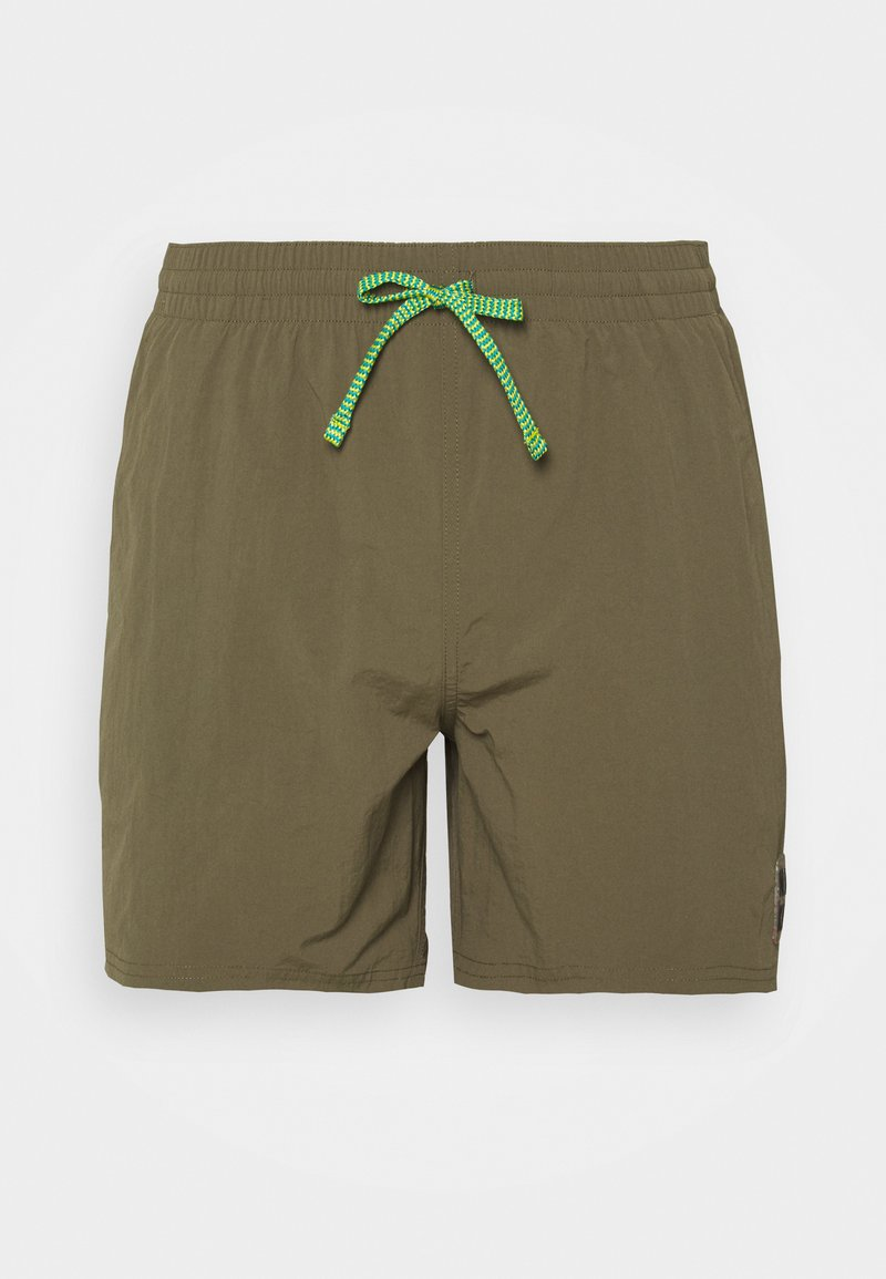 Nike Performance - VOLLEY ESSENTIAL - Swimming shorts - medium olive