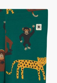 Lindex - LEO AND MONKEY 2 PACK - Leggings - Trousers - green - 3
