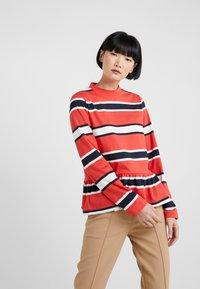 Libertine-Libertine - WAKE - Long sleeved top - red stripe - 0
