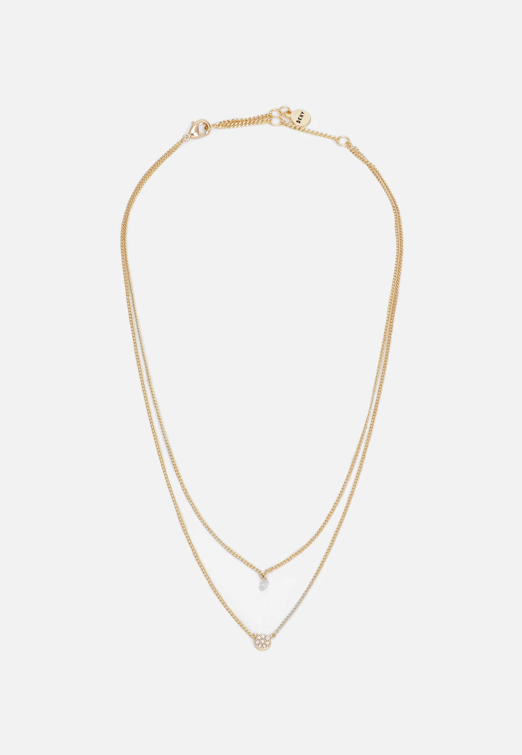 Donna CARDED DISC - Collana - gold-coloured